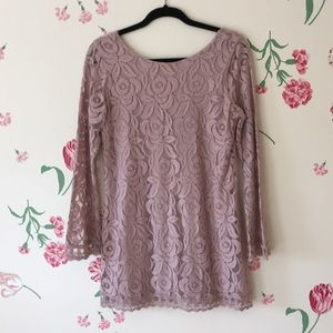 Gorgeous Pale Pink Floral Tunic!